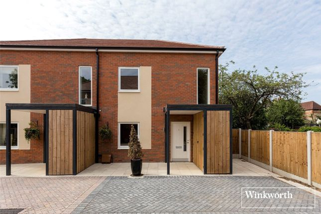 Thumbnail Semi-detached house for sale in Palmadium Close, London