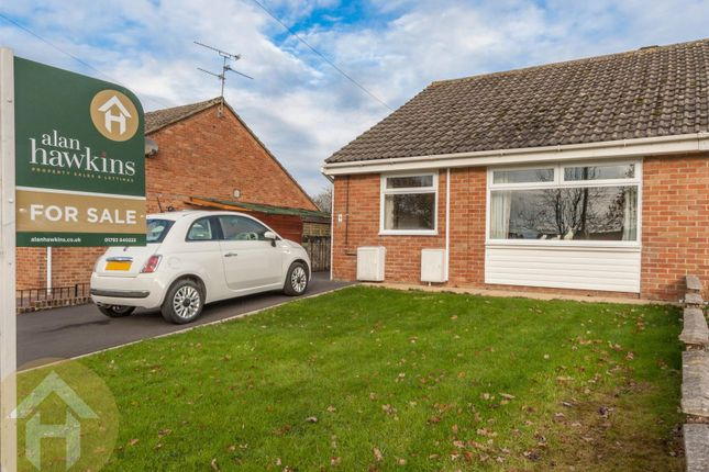 Thumbnail Semi-detached bungalow for sale in Shelley Avenue, Royal Wootton Bassett, Swindon