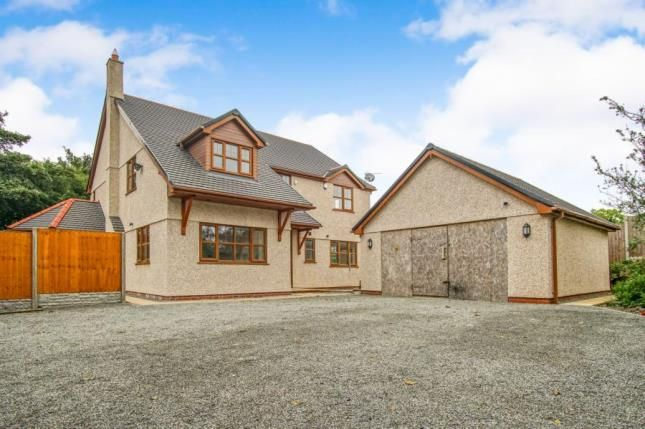 Thumbnail Detached house for sale in Gwalchmai, Holyhead, Sir Ynys Mon