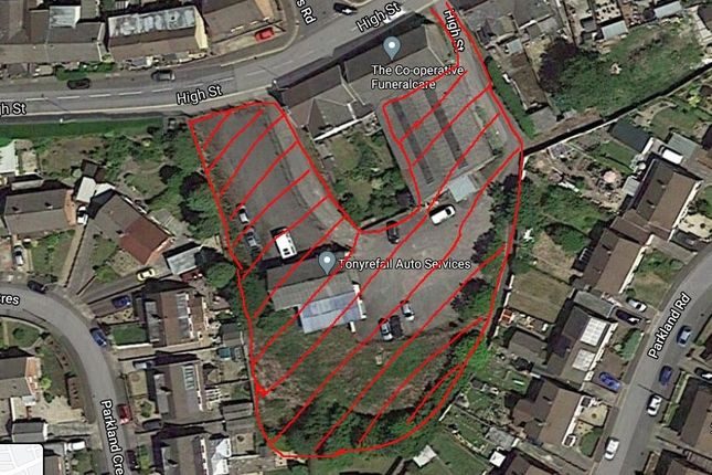 Thumbnail Land for sale in Tonyrefail -, Porth