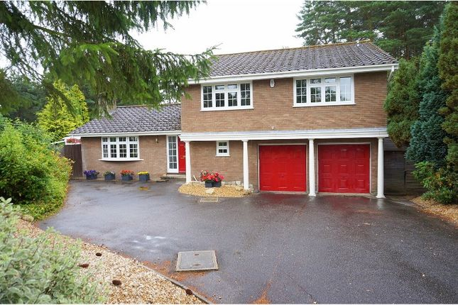 Thumbnail Detached house for sale in Hill Way, Ashley Heath, Ringwood