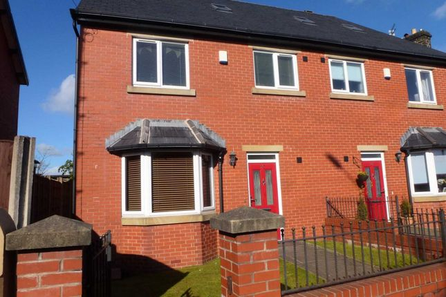 Thumbnail Semi-detached house for sale in Darwen Road, Bromley Cross, Bolton