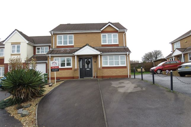 Thumbnail Detached house for sale in Delfryn, Miskin, Pontyclun