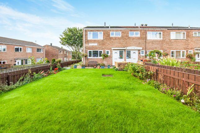 Thumbnail End terrace house for sale in Mount Pleasant, Stillington, Stockton-On-Tees