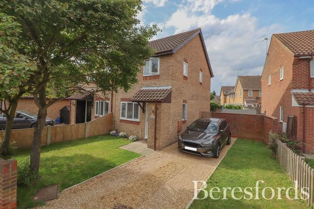 Thumbnail Semi-detached house for sale in Langdale Drive, Highwoods, Colchester, Essex