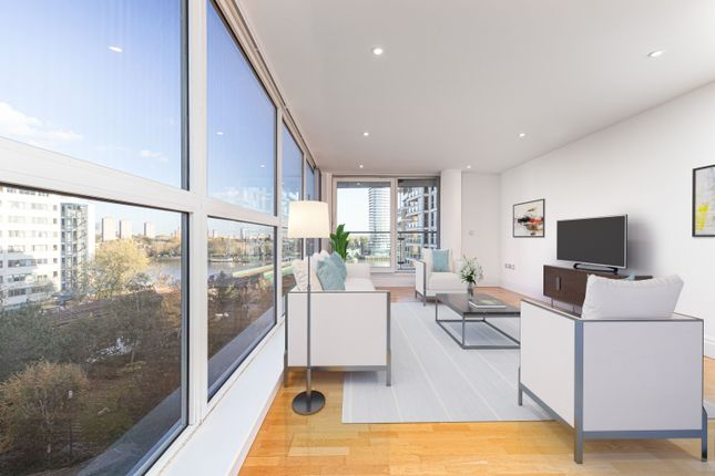 Thumbnail Flat for sale in The Boulevard, Imperial Wharf, London