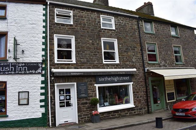 Thumbnail Retail premises for sale in High Street, Narberth, Pembrokeshire