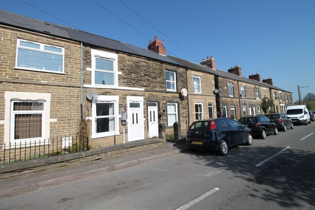 Thumbnail Terraced house to rent in Hardstoft Road, Pilsley, Chesterfield