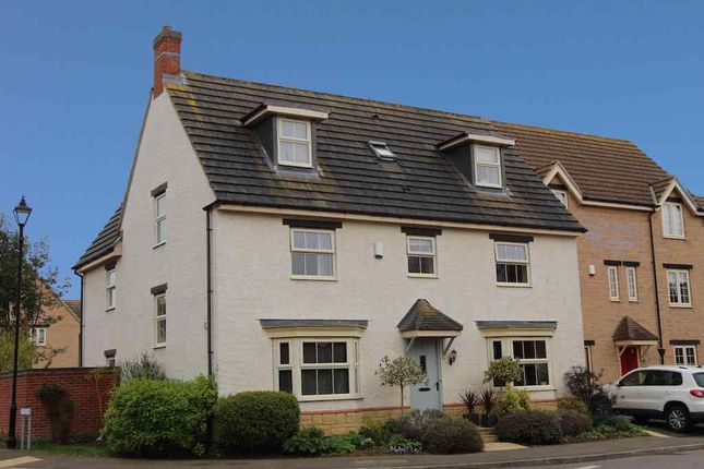 Thumbnail Detached house to rent in Brunel Avenue, Colsterworth, Grantham