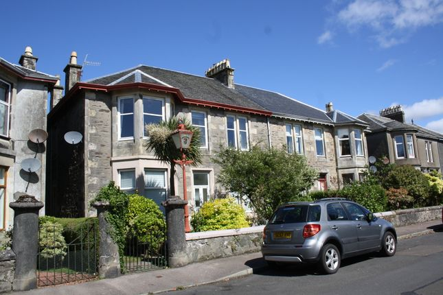 Thumbnail Flat for sale in 25 Wyndham Road, Ardbeg, Isle Of Bute