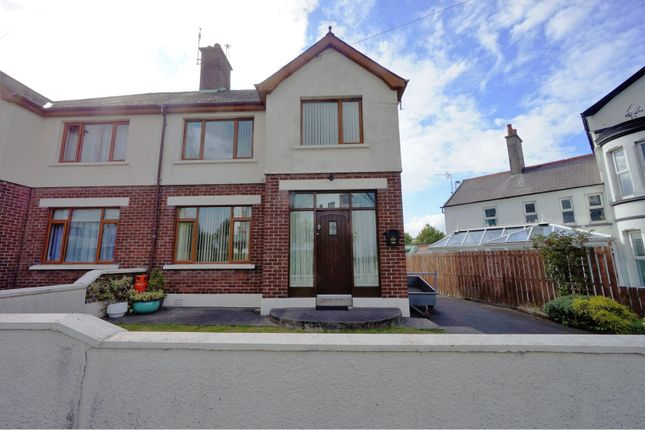 Thumbnail Semi-detached house for sale in Hamilton Road, Bangor