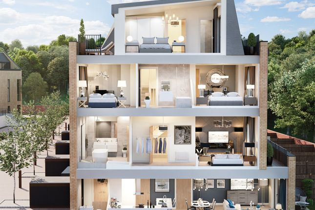 "Thumbnail Property for sale in ""Hawksmoor"" at 1201 High Road, Totteridge & Whetstone, London"