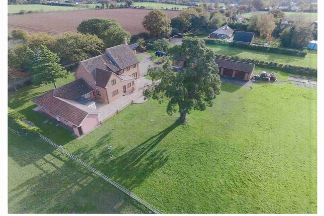 Thumbnail Detached house for sale in Mill Road, Burgh Castle, Great Yarmouth