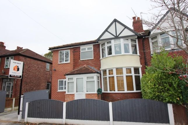 Thumbnail Semi-detached house for sale in Chestnut Drive, Sale