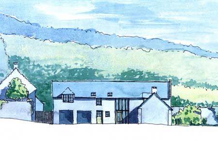 Thumbnail Farmhouse for sale in Grange Farm Steading Development, Mutehill, Kirkcudbright