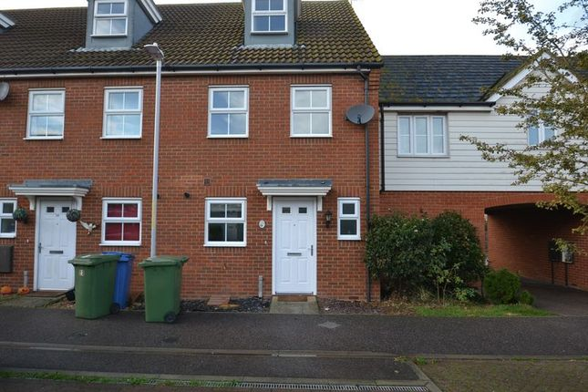 Thumbnail Terraced house to rent in Brambles Close, Minster On Sea, Sheerness
