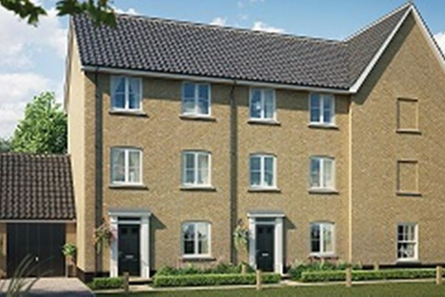 Thumbnail Town house for sale in Fordham Road, Soham, Ely
