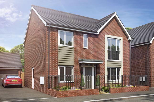 Thumbnail Detached house for sale in Plot 28 Weogoran Park, Whittington Road, Worcester
