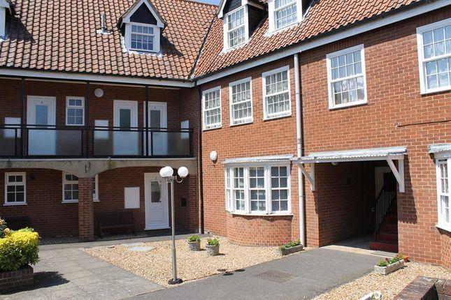 Thumbnail Flat for sale in Jubilee Court, King's Lynn
