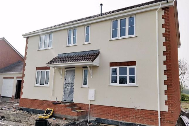 Thumbnail Detached house for sale in Meadow Drive, East Huntspill, Somerset