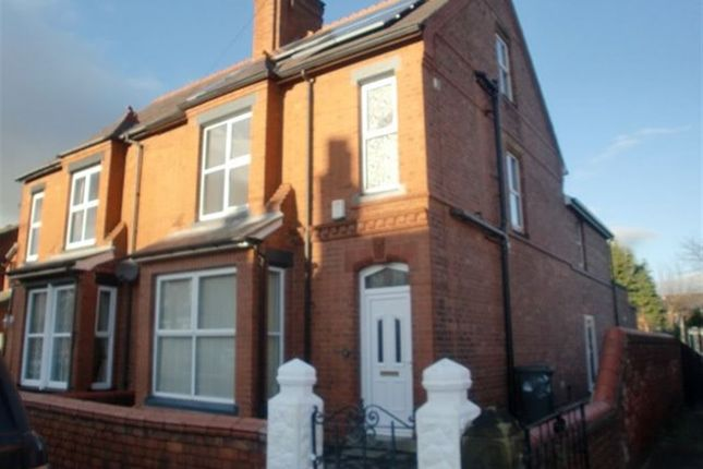 Thumbnail Room to rent in Beechley Road, Wrexham