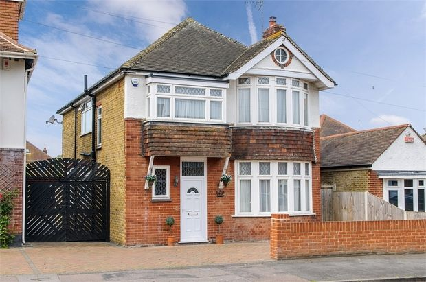 Thumbnail Detached house for sale in Hartsdown Road, Margate
