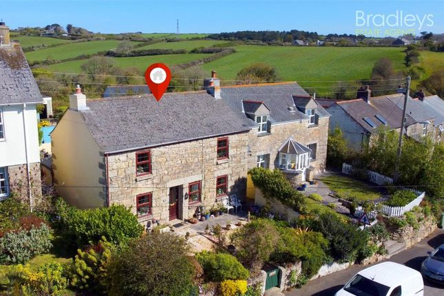 Thumbnail Detached house for sale in Church Hill, Ludgvan, Penzance, Cornwall