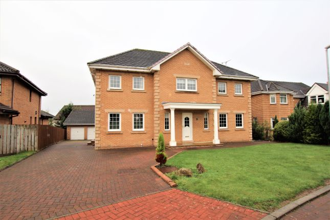 Thumbnail Detached house for sale in Braid Avenue, Dalziel Park, Motherwell