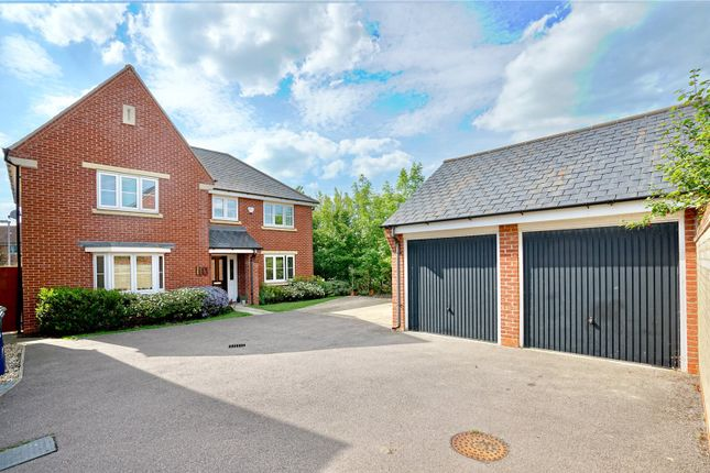 Thumbnail Detached house for sale in Lannesbury Crescent, St. Neots, Cambridgeshire