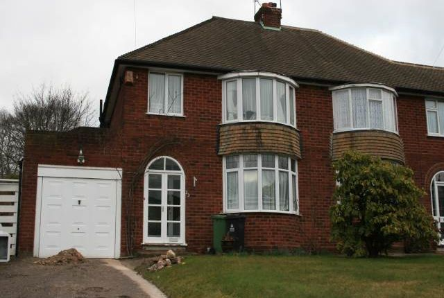 Thumbnail Semi-detached house to rent in Buchanan Road, Walsall