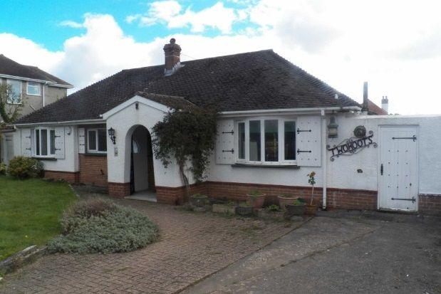 Thumbnail Bungalow to rent in Cherry Grove, Derwen Fawr, Sketty, Swansea