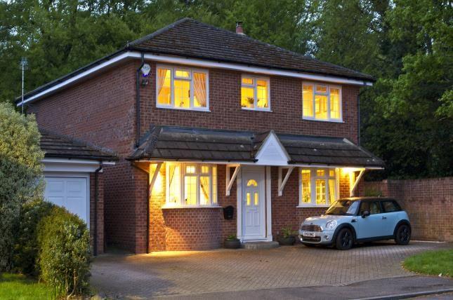 Thumbnail Detached house for sale in Windlesham, Surrey, United Kingdom
