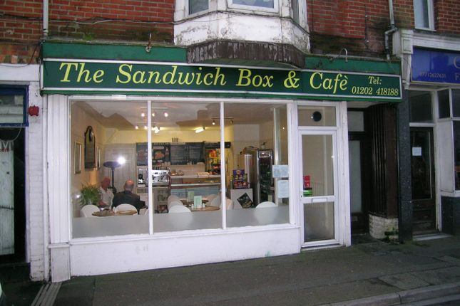 Restaurant/cafe to let in Sandwich Shop & Cafe, Bournemouth