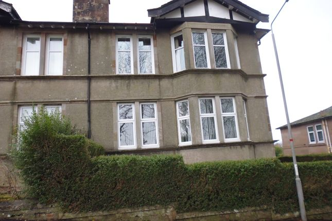 Thumbnail Flat for sale in 6 Auchnacloich Road, Rothesay, Isle Of Bute
