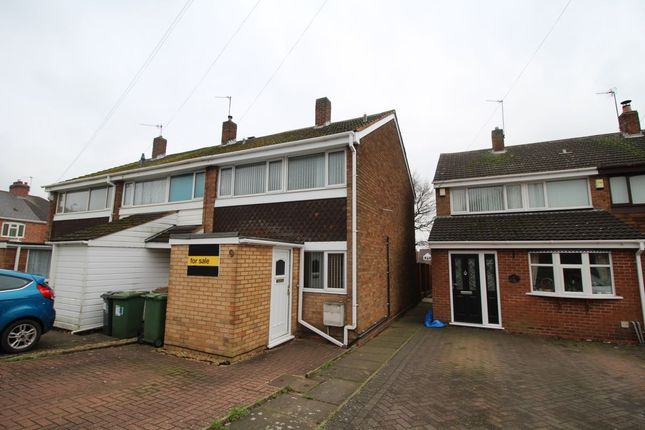 Thumbnail Terraced house for sale in The Hayes, Willenhall