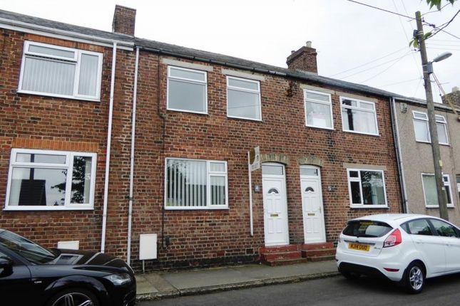 Thumbnail Terraced house to rent in Tyzack Street, Edmondsley, Durham