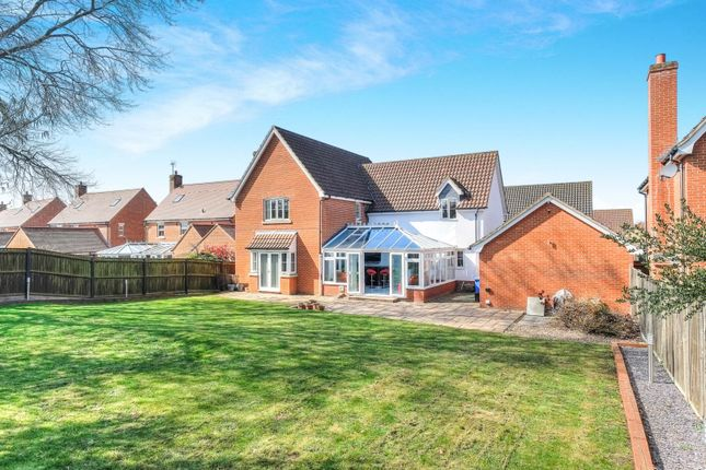 Thumbnail Detached house for sale in Marauder Road, Norwich