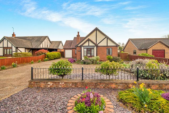 Thumbnail Detached bungalow for sale in Old Main Road, Fleet Hargate, Spalding
