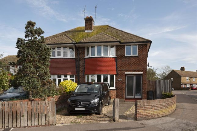 3 bed semi-detached house for sale in Norman Road, Broadstairs CT10