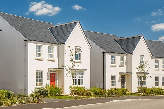 View Of Holden 4 Bedroom Homes Along A Street At Embden Grange