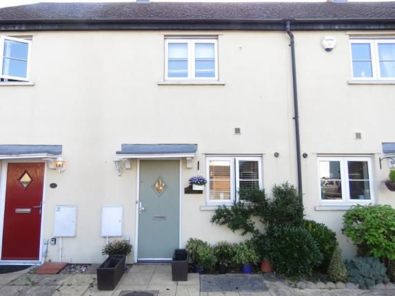 Thumbnail Terraced house for sale in Willow Tree Close, Abridge, Romford