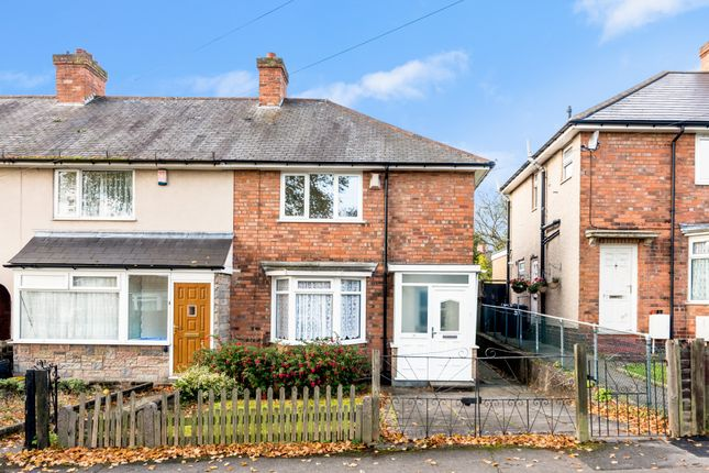 Thumbnail End terrace house to rent in Firtree Road, Birmingham, West Midlands