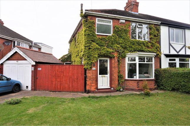 Thumbnail Semi-detached house for sale in Grantham Avenue, Scartho