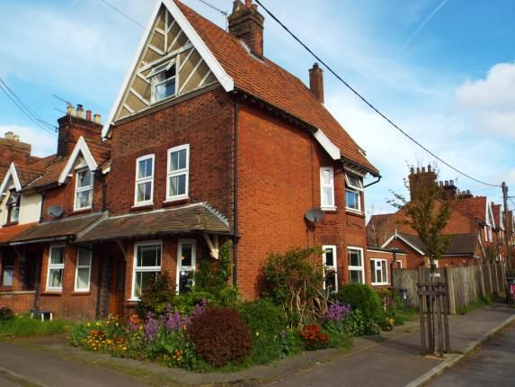 Thumbnail End terrace house for sale in Melton Constable, Norfolk