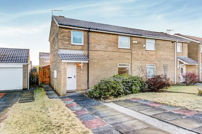 Thumbnail Semi-detached house for sale in Hayton Close, Cramlington