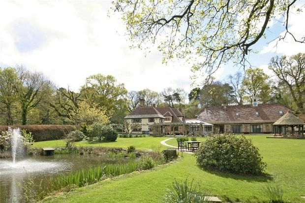 Thumbnail Detached house for sale in Arrowsmith Road, Wimborne, Dorset
