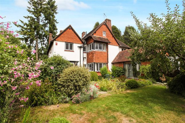 Thumbnail Detached house for sale in Hook Heath Avenue, Woking, Surrey