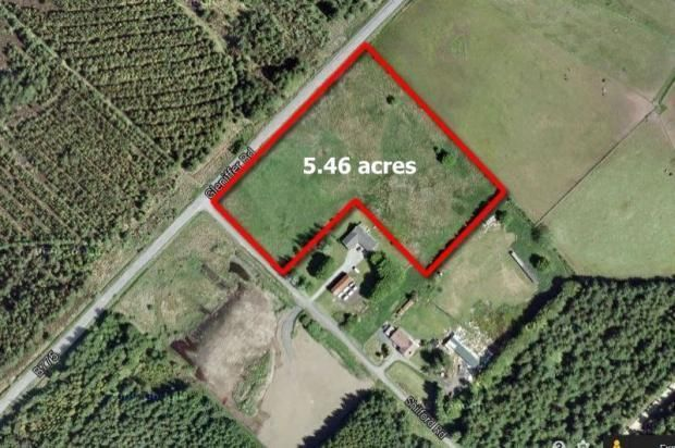 Thumbnail Land for sale in Site At West Caplaw Farm, Shilford Road, Uplawmoor, Ayrshire G783An