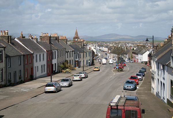 View From Lounge Over George Street, Whithorn