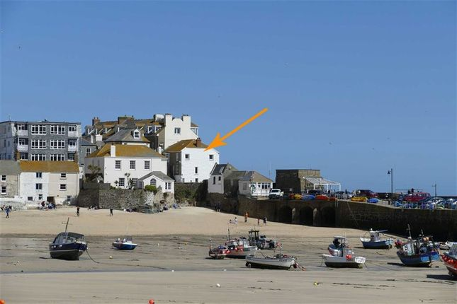Thumbnail End terrace house for sale in Sea View Place, St. Ives